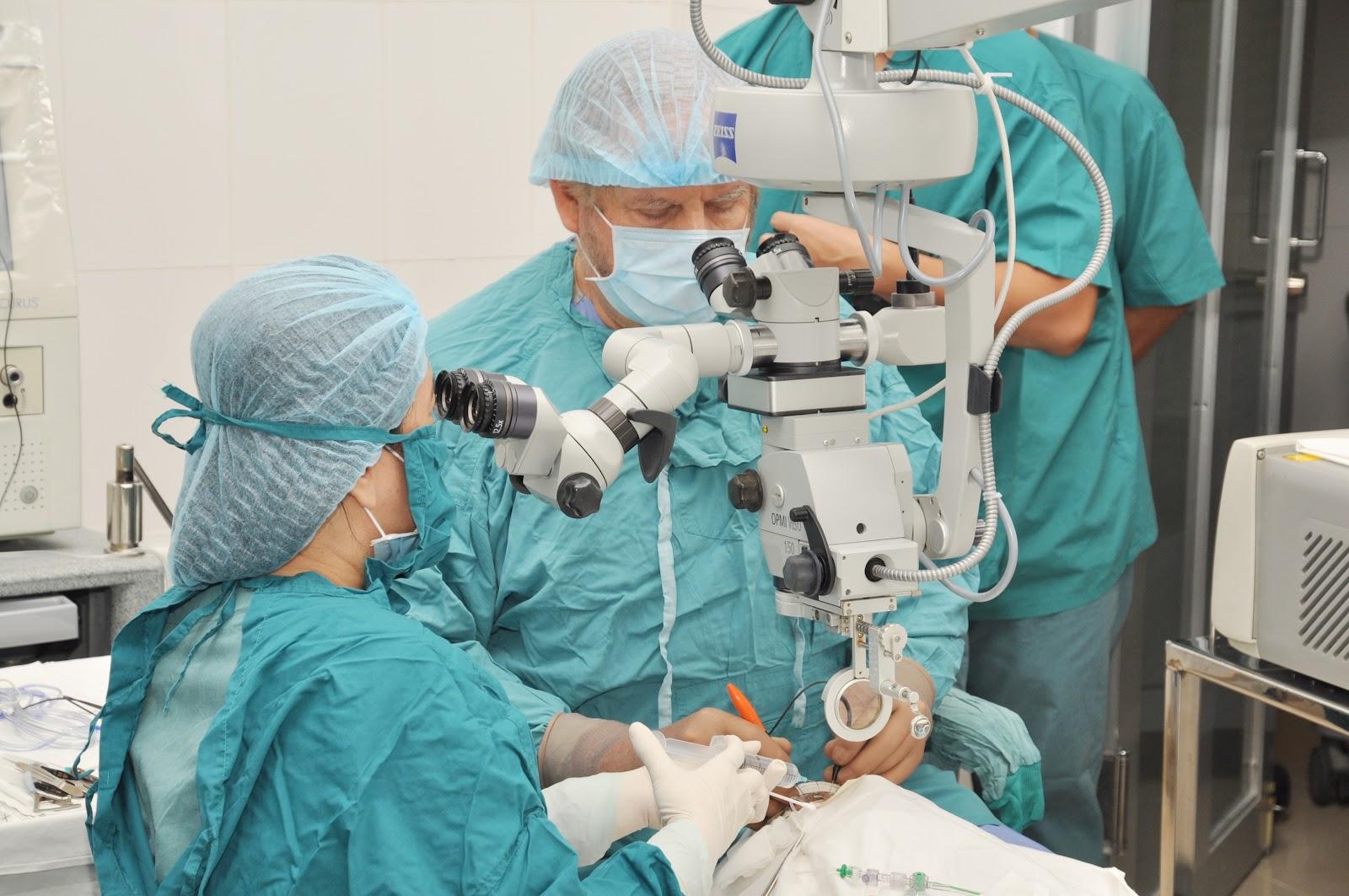 جراحات الشبكية و الجسم الزجاجى بأنواعها